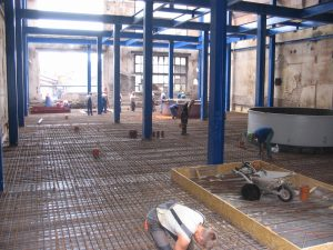 Projekt konstrukcyjny hali filtracji