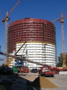 Projekty budowlane dotyczące budowy silosu na cukier w Strzelinie